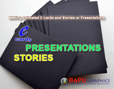Workshop on Making Animated E-cards and Stories or Presentations