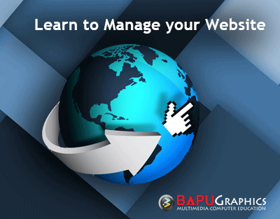 Workshop on Managing your website and learn all about Web Media