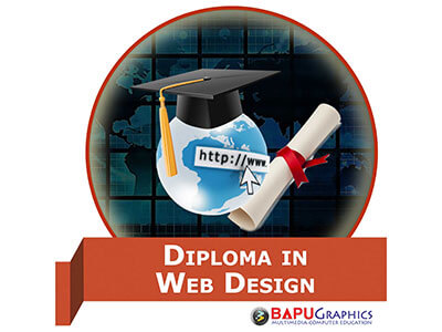 best web and graphic design institute in delhi and ncr at bapu graphic diploma in web design courses details