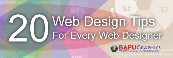 20 Tips for Web Designer
