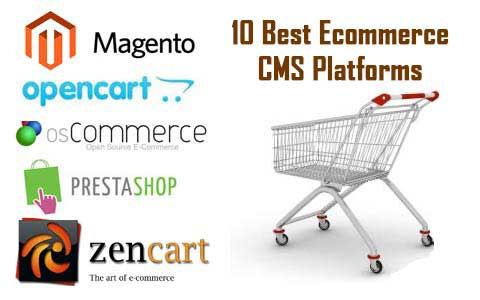 10 Best Ecommerce CMS Platforms