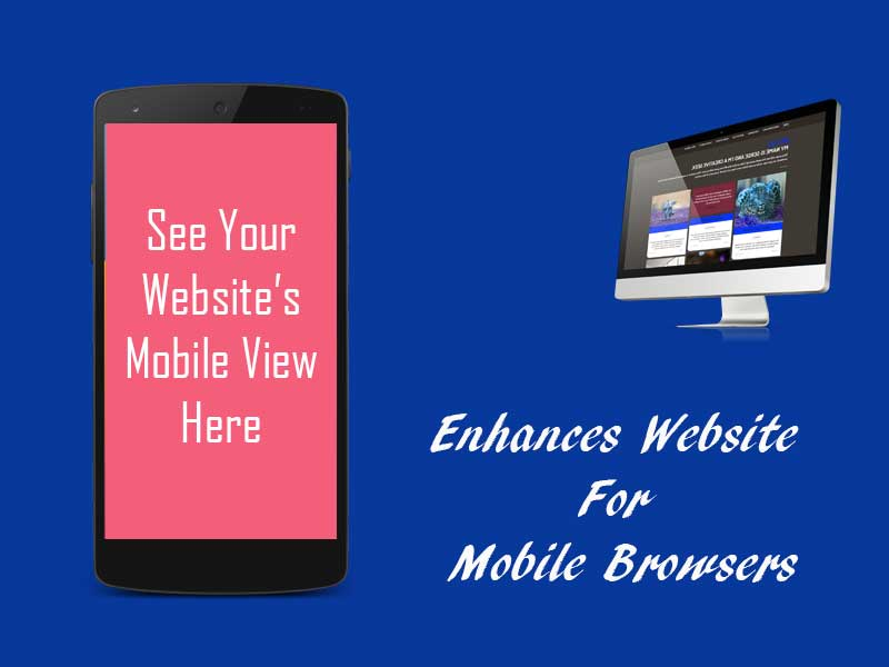 Enhances Website for Mobile Browsers