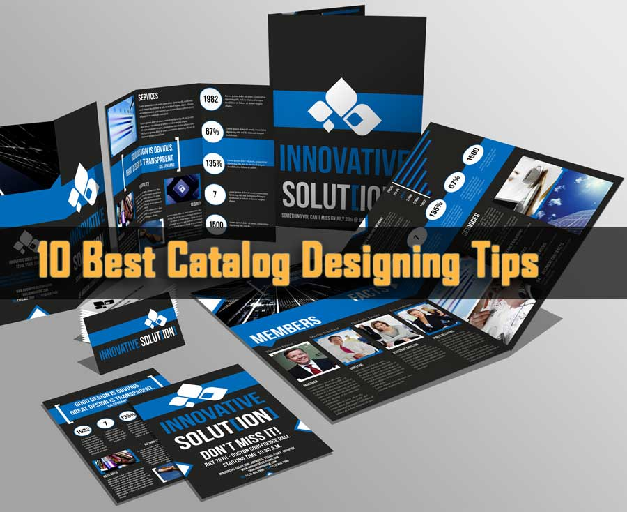 10 Best Catalog Designing Tips