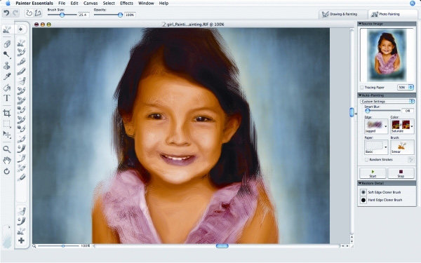 Corel Painter Tips for Working on Photos Painterly