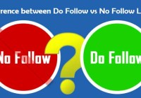 Difference between Do Follow vs No Follow Links