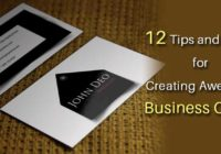 12 Tips and Tricks for Creating Awesome Business Cards