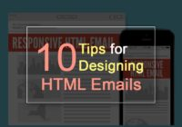 10 Tips for Designing HTML Emails