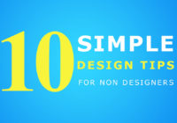 10 Simple and Important Graphic Design Tips for Non-Designers