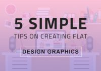 Tips on Creating Flat Design Graphics