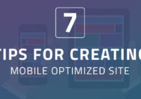 7 Tips For Creating a Mobile Optimized Site In 2018