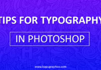 Typography tips In Photoshop