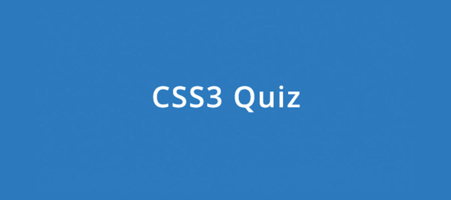 CSS3 Online Quiz