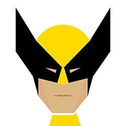 Super Hero Illustration Worksheet