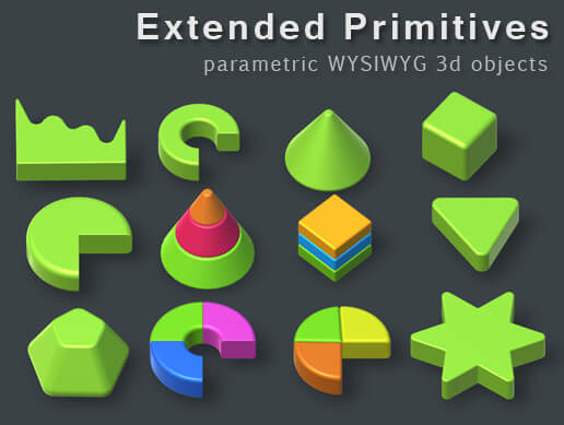 3Ds Max Worksheet 2 - Extended Primitives