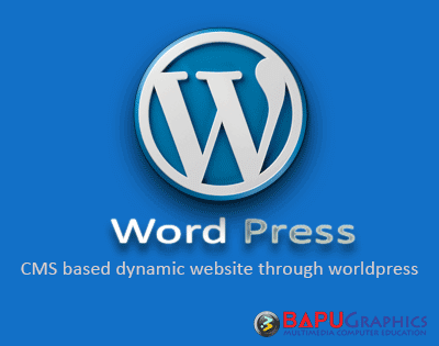Workshop on CMS based dynamic website through worldpress