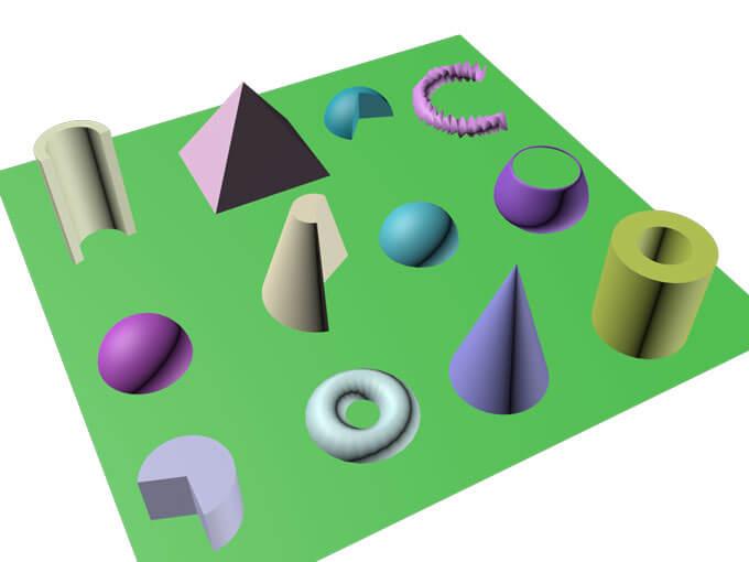 3Ds Max Worksheet 1- BasicPrimitives