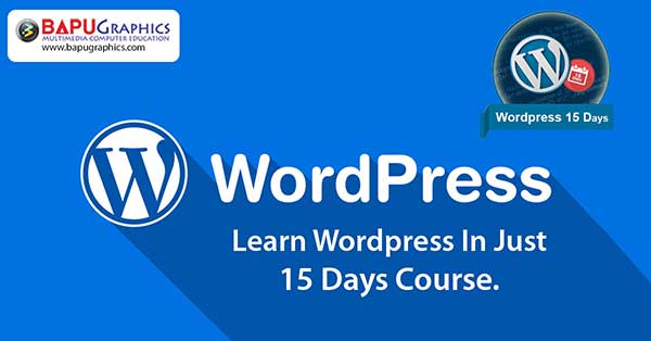 WordPress 15 Days Short Term Course Training Institute In Delhi