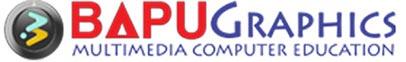 Logo of Bapu Graphics - A leading institute of web designing in Delhi