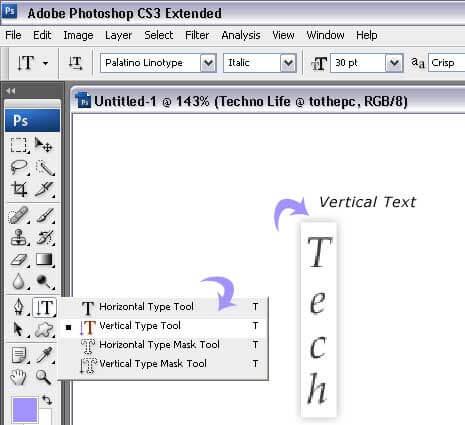 vertical-type-tool-example