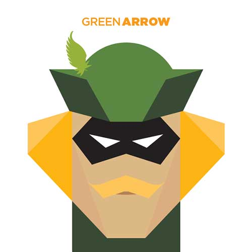 Super Hero Illustration 4
