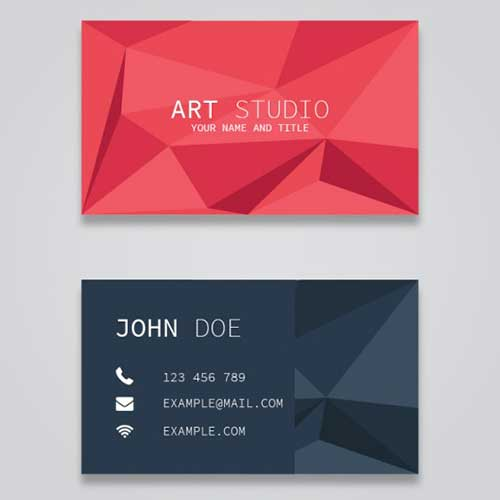 Visiting Card Design 13