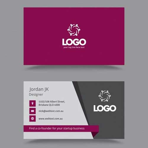 Visiting Card Design 14