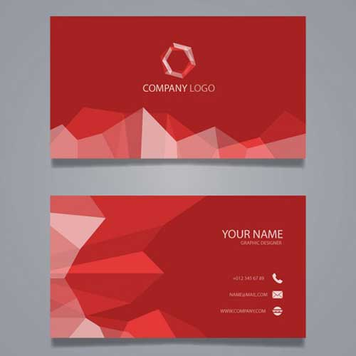 Visiting Card Design 15