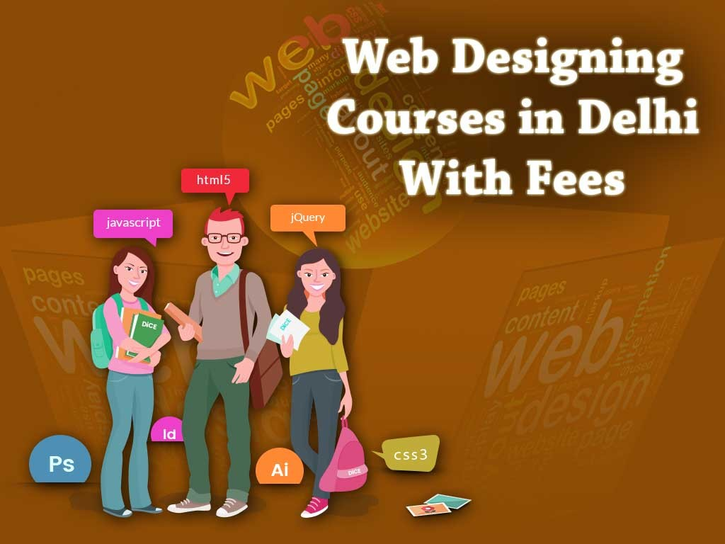 Web Designing Courses in Delhi With Fees