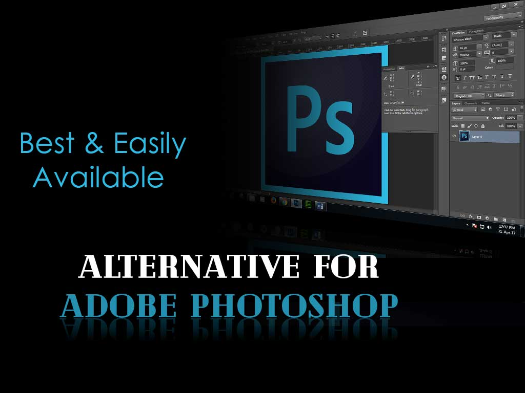 Free Easily Available Alternative for Adobe Photoshop