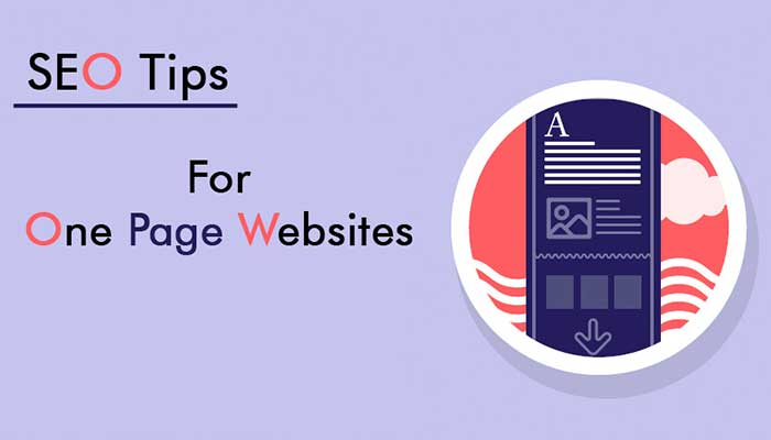 SEO Tips for One Page Websites