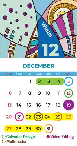 Calendar Bapu Graphics December 2020