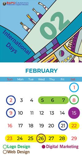 calendar Bapu feb 2020