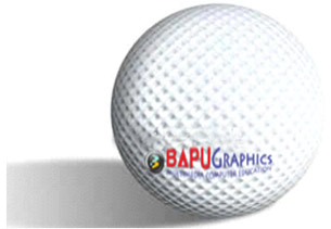 Golf Ball Photoshop Tutorial Golfball 13