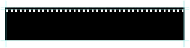 You can use it as a design element, or for displaying your photographs. Making a Filmstrip 06