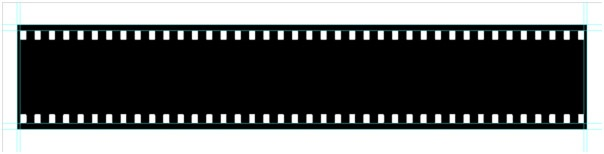 You can use it as a design element, or for displaying your photographs. Making a Filmstrip 07