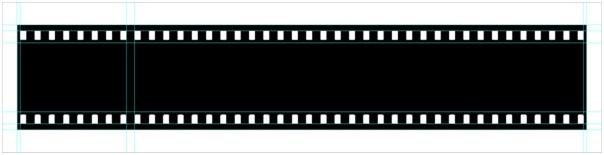 You can use it as a design element, or for displaying your photographs. Making a Filmstrip 08