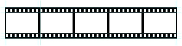 You can use it as a design element, or for displaying your photographs. Making a Filmstrip 09