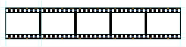 You can use it as a design element, or for displaying your photographs. Making a Filmstrip 11