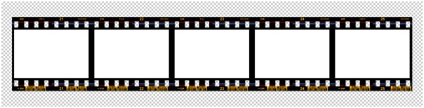 You can use it as a design element, or for displaying your photographs. Making a Filmstrip 14