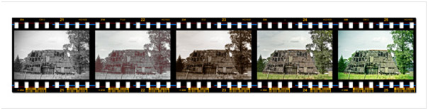 You can use it as a design element, or for displaying your photographs. Making a Filmstrip 15