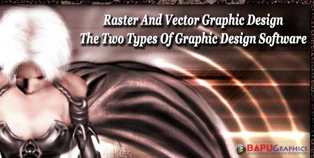 Learn Graphics design software raster and vector