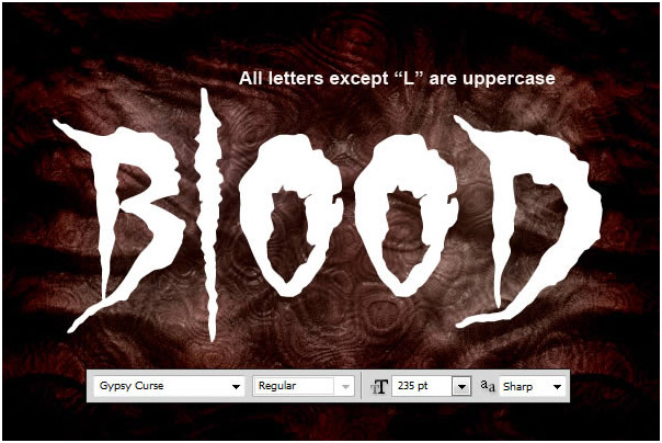 In this quick suggestion tutorial we will certainly show you the best ways to create a blood text effect  04
