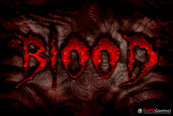 In this quick suggestion tutorial we will certainly show you the best ways to create a blood text effect  07