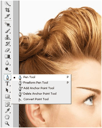 Photoshop Tutorial Change Hair 3