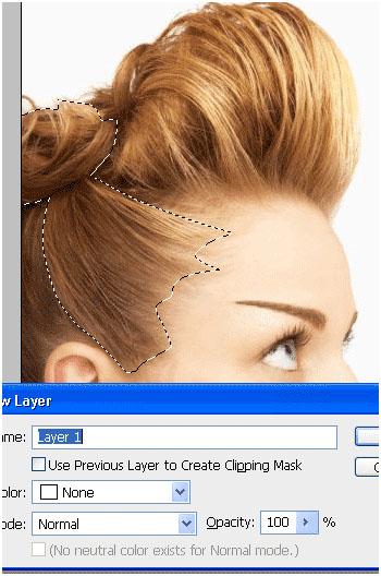 Photoshop Tutorial Change Hair 4