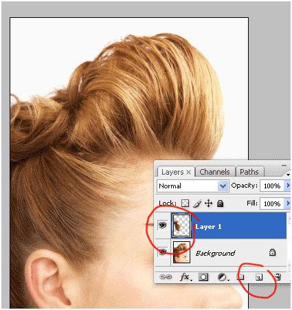 Photoshop Tutorial Change Hair 5