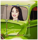Positioning an individual inside a photo Photoshop Tutorial. inside a picture 12