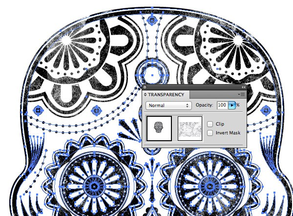 opacity mask in illustrator