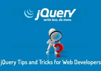 jQuery Tips and Tricks for Web Developers