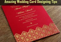 Amazing Wedding Card Designing Tips
